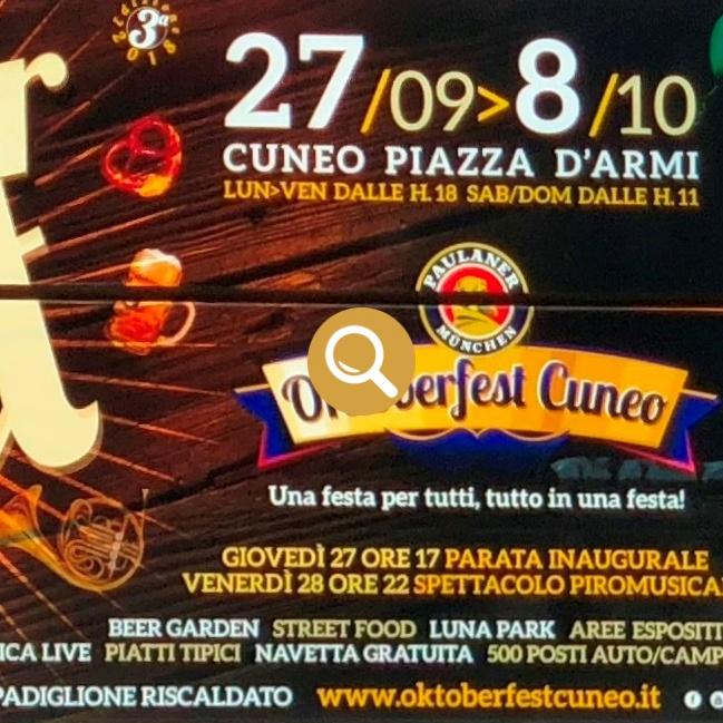 Oktoberfest Cuneo - Bra Oggi 25 settembre 2018
