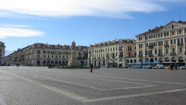 Cuneo Piazza Galimberti