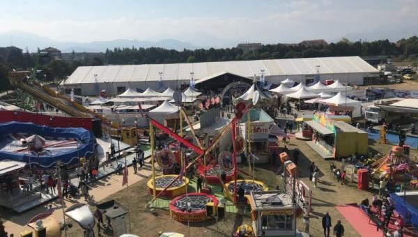 Oktoberfest Cuneo - Grande successo di pubblico - panoramica