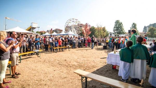 Family Day, messa e grande partecipazione: Oktoberfest Cuneo, una festa per tutti, tutto in una festa!