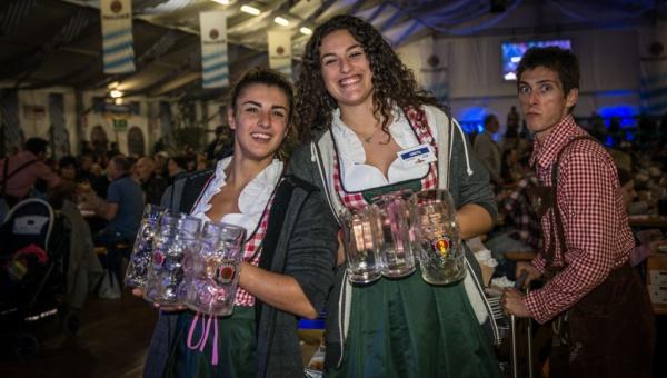 Oktoberfest Cuneo: lo staff