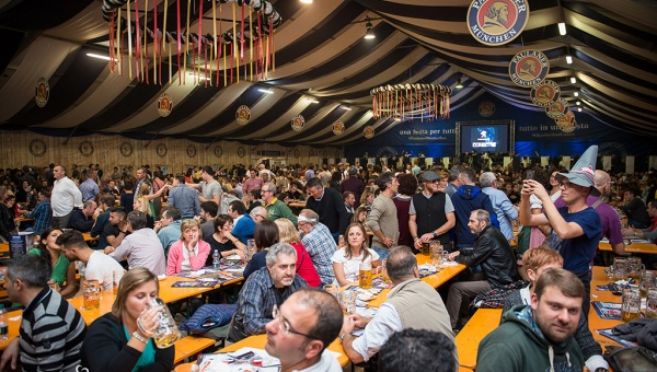 Record di presenze all'Oktoberfest Cuneo