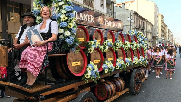 Paulaner Oktoberfest Cuneo | la sfilata