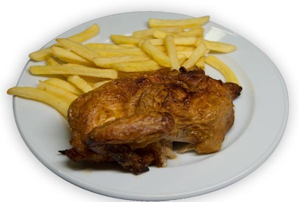 Oktoberfest Cuneo - cosce di pollo al forno